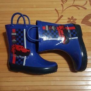 Lightning McQueen Rain Boots